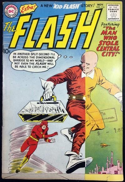 Flash (1959) #116 VG+ (4.5)