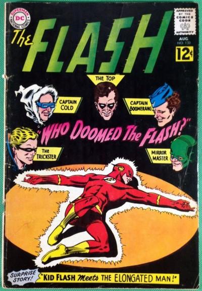 FLASH (1959) #130 VG- (3.5) 1st app Gauntlet of Super-Villains