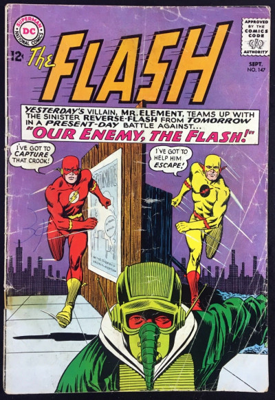 Flash (1959) #147 GD (2.0) 2nd app Reverse Flash