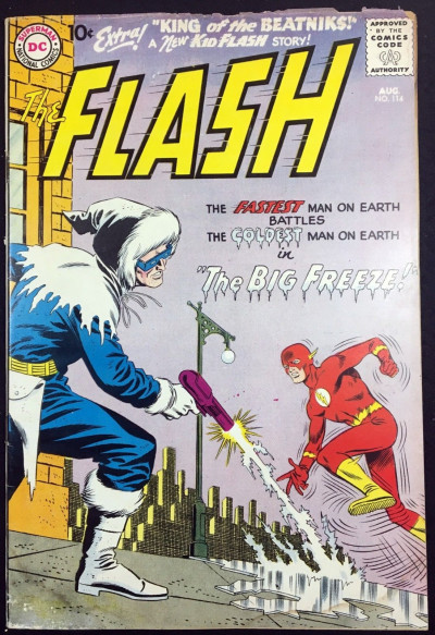 Flash (1959) #114 VG (4.0) 2nd app Captain Cold 1st app in title