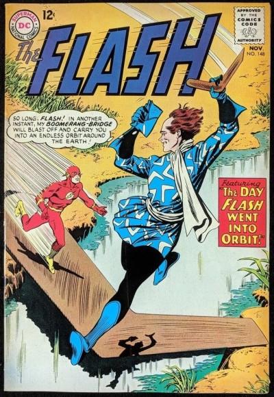 FLASH (1959) #148 FN+ (6.5) vs Captain Boomerang