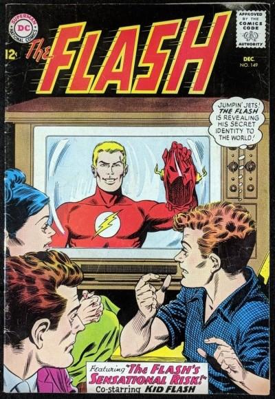 FLASH (1959) #149 FN- (5.5)
