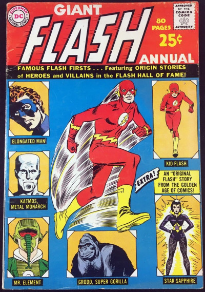Flash Annual #1 (1963) FN- (5.5)