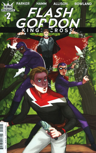 Flash Gordon: Kings Cross (2016) #2 VF/NM Lara Margarida Cover Variant Dynamite