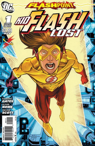 FLASHPOINT: KID FLASH LOST #1 OF 3 NM
