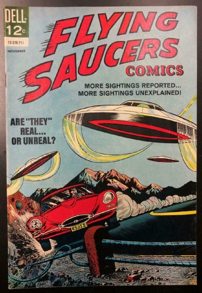 Flying Saucers (1967) FN+ (6.5) Chic Stone Dell