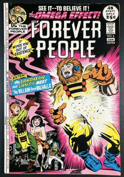 Forever People (1971) #6 FN/VF (7.0) Darkseid app 52 pages Kirby Story & Art