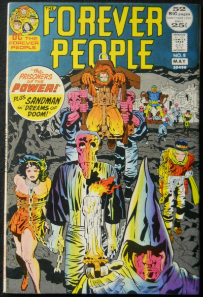 FOREVER PEOPLE #8 FN/VF JACK KIRBY