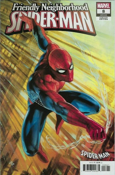 Friendly Neighborhood Spider-Man (2019) #8 VF/NM Spider Suit Variant Cover