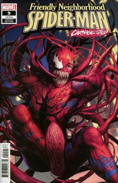 Friendly Neighborhood Spider-Man (2019) #9 VF/NM Carnage-ized Variant Cover