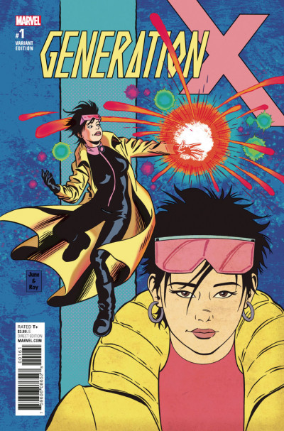 Generation X (2017) #1 VF/NM June Brigman Jubilee Variant Cover