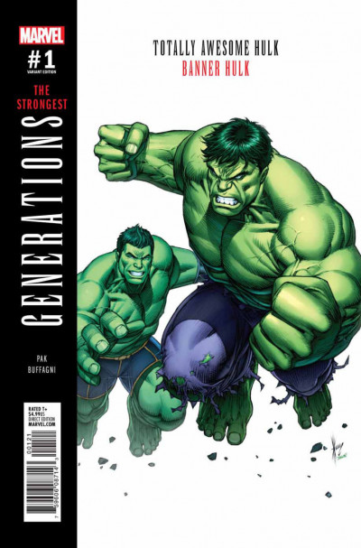 Generations: Banner Hulk & Totally Awesome Hulk (2017) #1 VF/NM Dale Keown