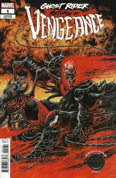 Ghost Rider: Return of Vengeance (2021) #1 VF/NM Hotz Knullified Variant Cover