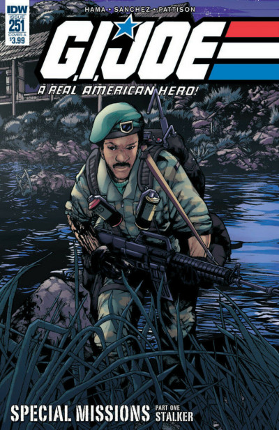 G.I. Joe: A Real American Hero (2010) #251 VF/NM Alex Sanchez Cover IDW