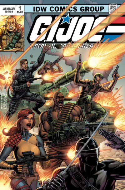 G.I. Joe: A Real American Hero Anniversary Edition (2018) #1 VF/NM-NM Foil Cover