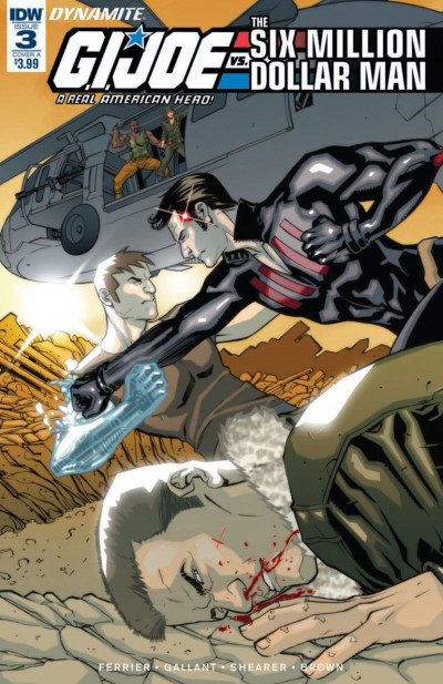 G.I. Joe: A Real American Hero vs. the Six Million Dollar Man (2018) #3 VF/NM