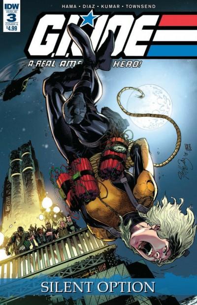 G.I. Joe: A Real American Hero: Silent Option (2018) #3 Netho Diaz VF/NM DW