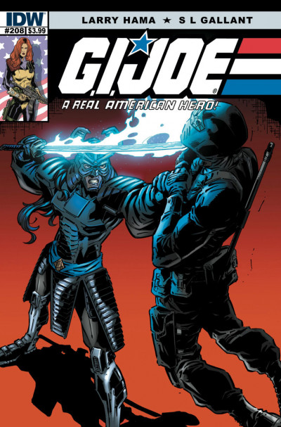 G.I. JOE: A REAL AMERICAN HERO (2010) #208 VF/NM LARRY HAMA IDW