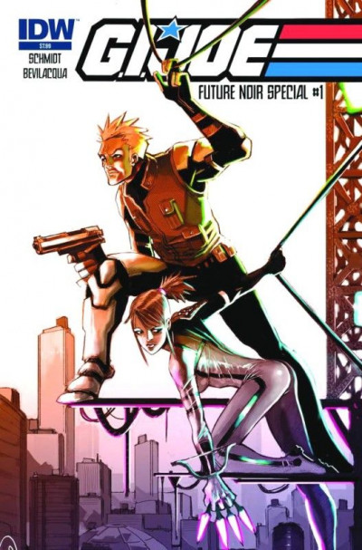 G.I. JOE: FUTURE NOIR SPECIAL #1 OF 2 VF/NM IDW