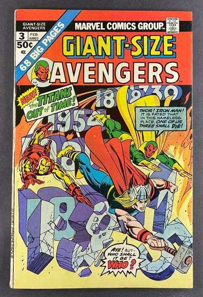 Giant-Size Avengers (1974) #3 FN/VF (7.0) Gil Kane