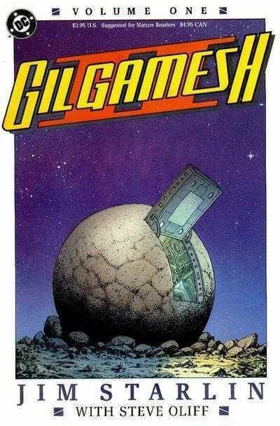Gilgamesh II (1989) #'s 1 2 3 4 Complete VF/NM Set Jim Starlin