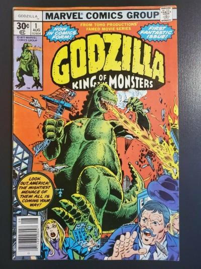 Godzilla # 1 (1977) F (6.0) Marvel comics - 1st Marvel appearance Herb Trimpe 