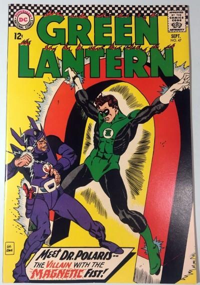 Green Lantern (1960) #47 VF/NM (9.0) vs Dr.Polaris