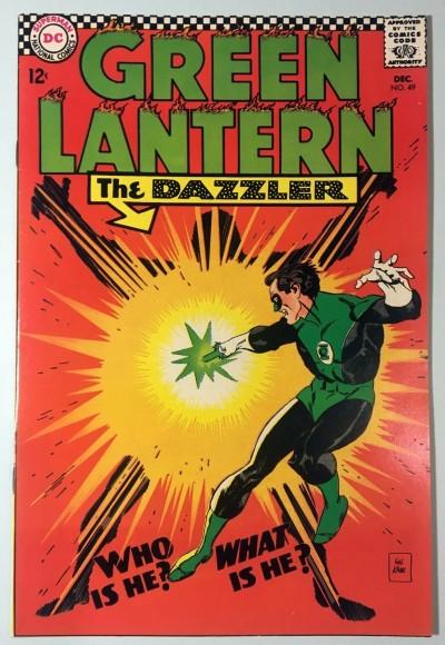 Green Lantern (1960) #49 VF (8.0) vs Dazzler