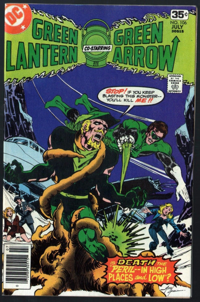 Green Lantern (1960) #106 with Green Arrow FN/VF (7.0) Black Canary appearance