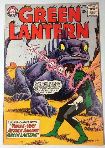 Green Lantern (1960) #34 FN- (5.5)