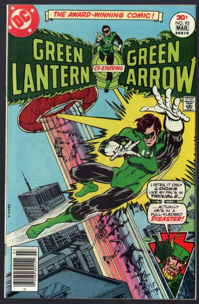 green lantern 1960 93 with green arrow vf 7 5