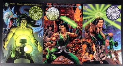 Green Lantern Dragon Lord (2001) 1 2 3 complete set DC prestige format