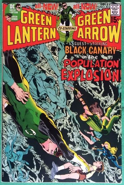 Green Lantern (1960) #81 with Green Arrow VF (8.0) classic Neal Adams & O'Neil