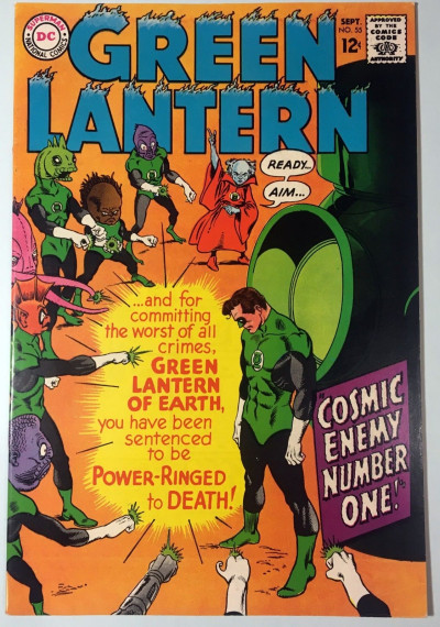 Green Lantern (1960) #55 FN/VF (7.0)