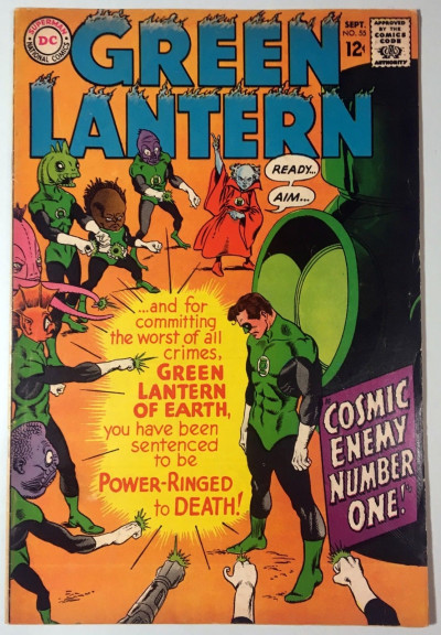 Green Lantern (1960) #55 VG/FN (5.0)