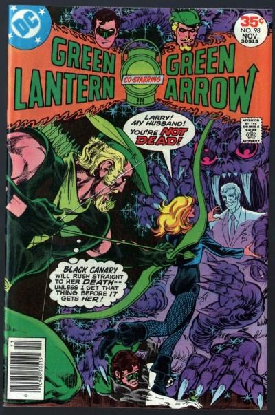 Green Lantern (1960) #98 with Green Arrow VF+ (8.5)