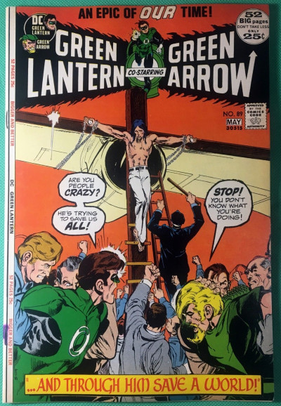 Green Lantern (1960) #89 VF (8.0) with Green Arrow Neal Adams cover & art