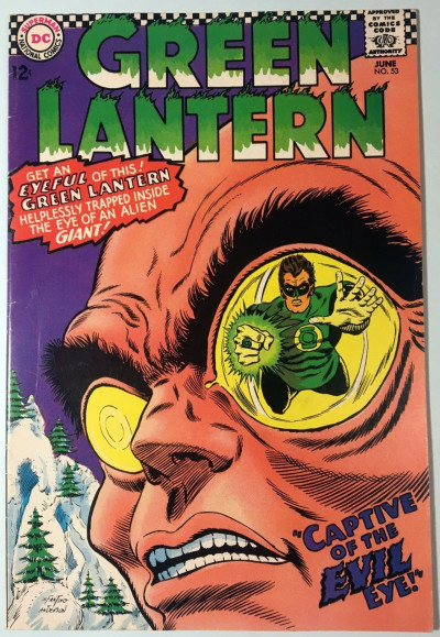 Green Lantern (1960) #53 FN (6.0)