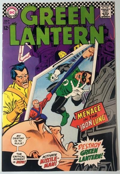 Green Lantern (1960) #54 FN/VF (7.0)
