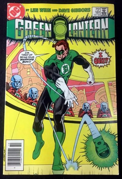 Green Lantern (1960) #181 FN/VF (7.0) Hal Jordan Quits Len Wein & Dave Gibbons