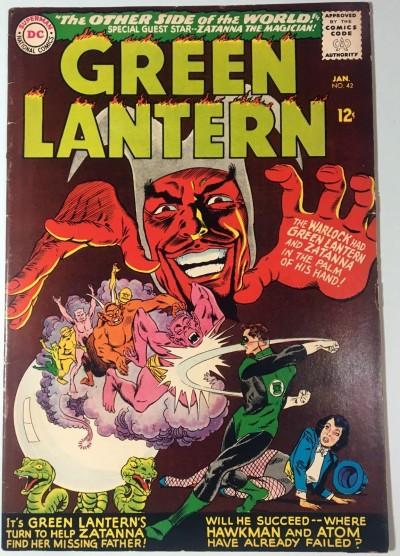Green Lantern (1960) #42 FN (6.0) 3rd app Zatanna
