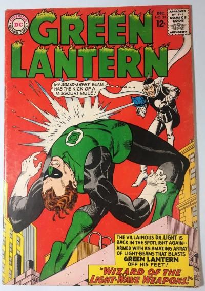 Green Lantern (1960) #33 FN- (5.5) vs Dr.Light