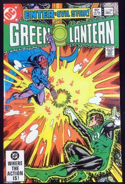 Green Lantern (1960) #159 VF/NM (9.0) origin Evil Star