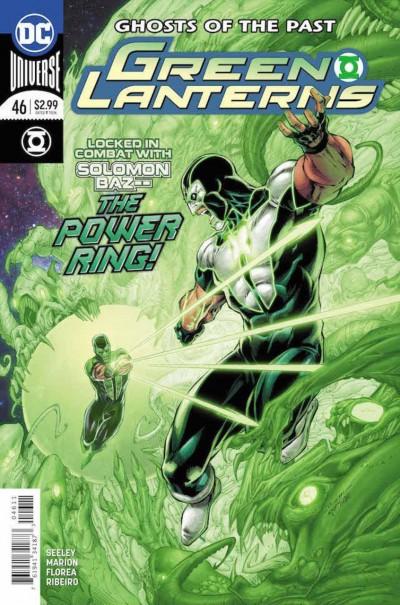 Green Lanterns (2016) #46 VF/NM Brett Booth Cover DC Universe