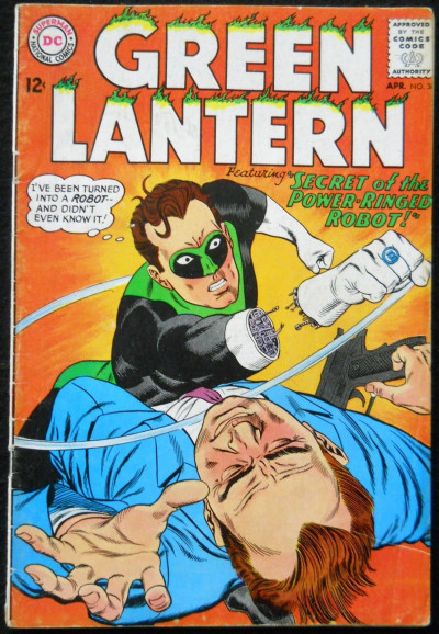 GREEN LANTERN #36 VG+