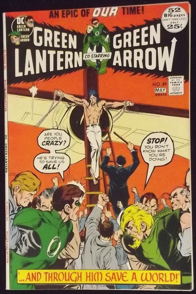 GREEN LANTERN #89 VF+ GREEN ARROW NEAL ADAMS