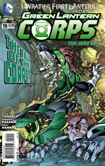 GREEN LANTERN CORPS (2011) #19 VF/NM THE NEW 52!