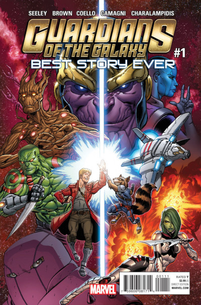 GUARDIANS OF THE GALAXY: BEST STORY EVER (2015) #1 VF/NM