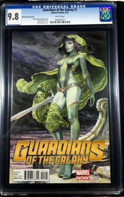 Guardians of the Galaxy (2013) #1 CGC 9.8 Milo Manara variant cover (109978311)