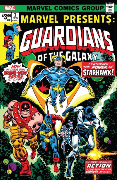 Guardians of the Galaxy: Marvel Presents #3: Facsimile Edition (2019) VF/NM-NM